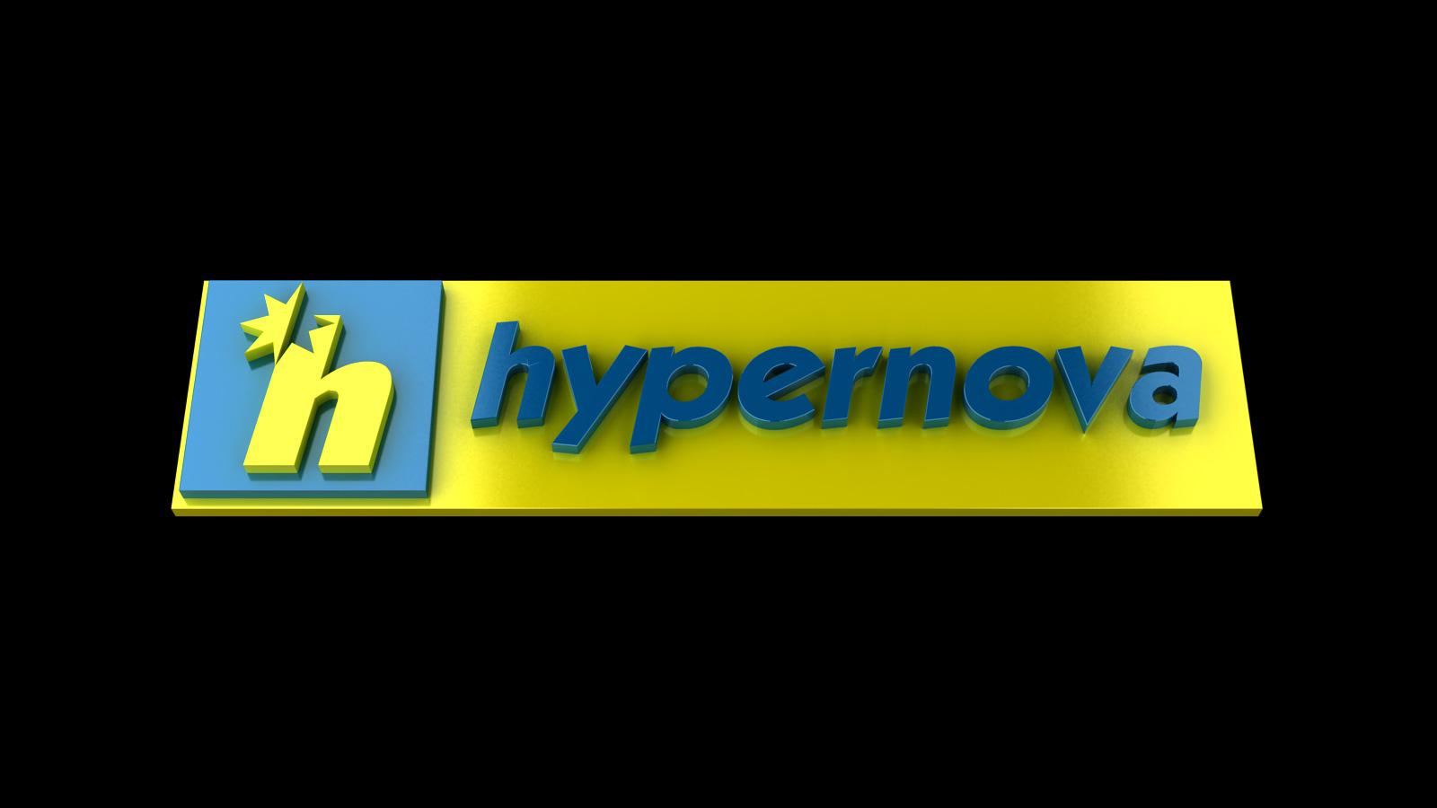 Ahold Hypernova Logo 3d