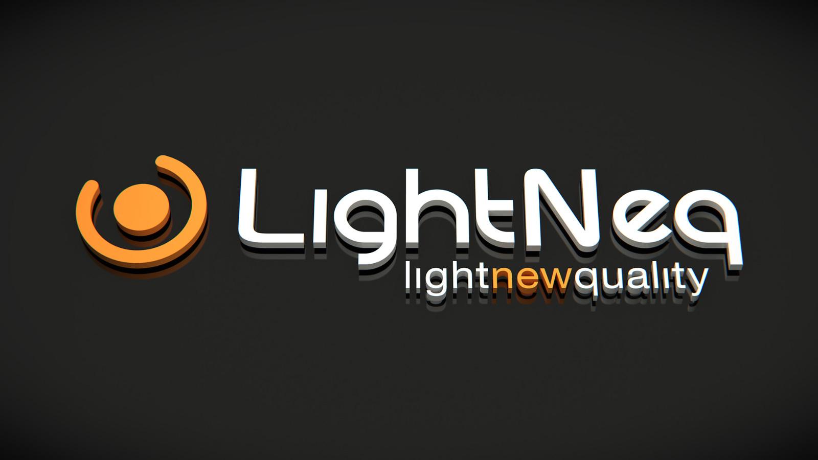 Lightneq 3d logo